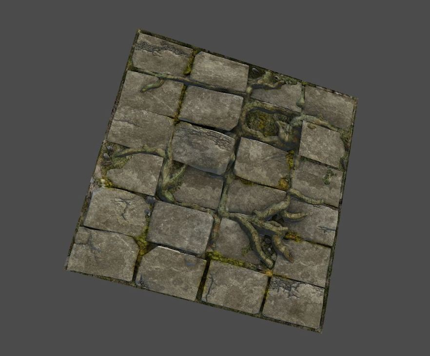 1024 tiling Normal, Spec, and Diffuse Map (Marmoset)