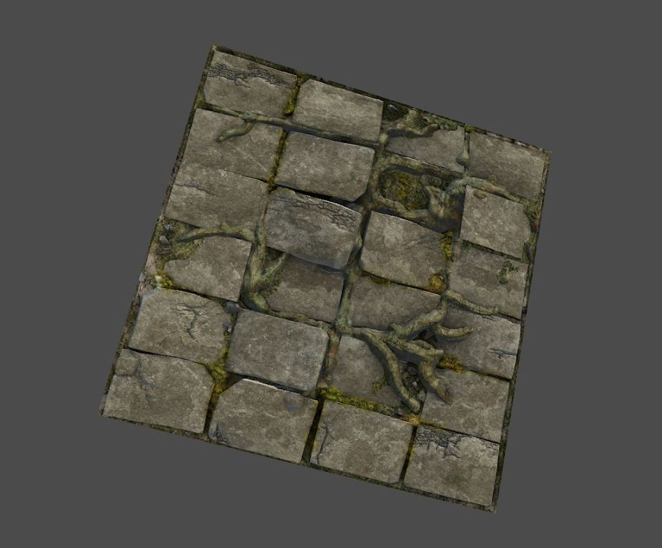 1024 tiling Normal, Spec, and Diffuse Map